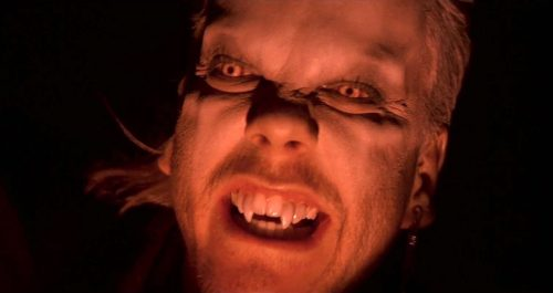 Kiefer Sutherland in THE LOST BOYS