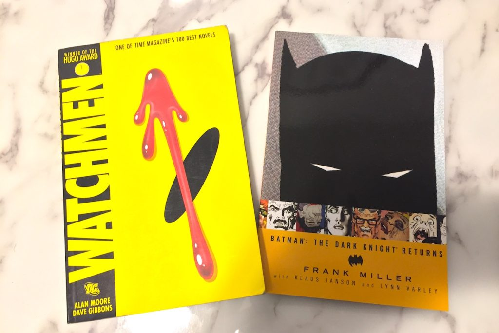 Watchmen and The Dark Knight Returns