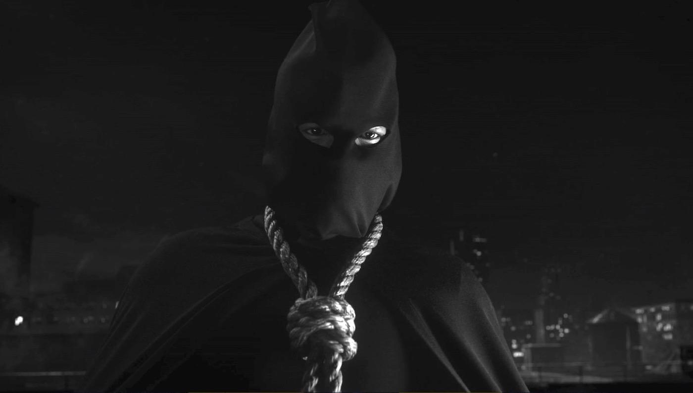Hooded Justice (Jovan Adepo) in WATCHMEN 1x06