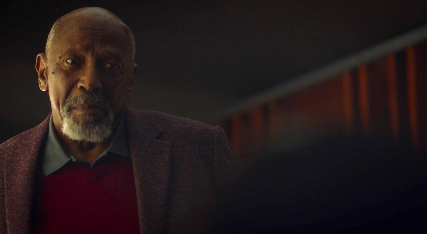 Louis Gossett, Jr. in WATCHMEN 1x04