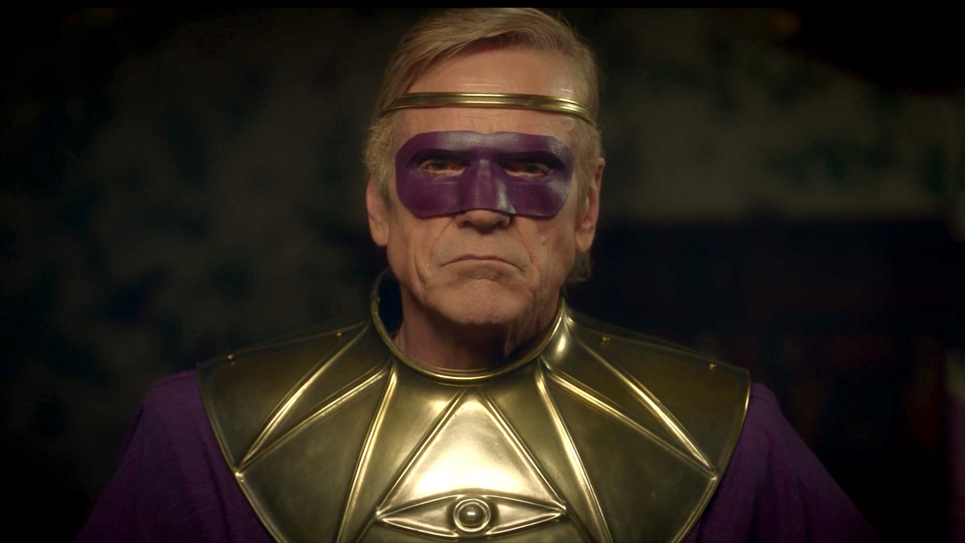 Ozymandias (Jeremy Irons) in WATCHMEN 1x03