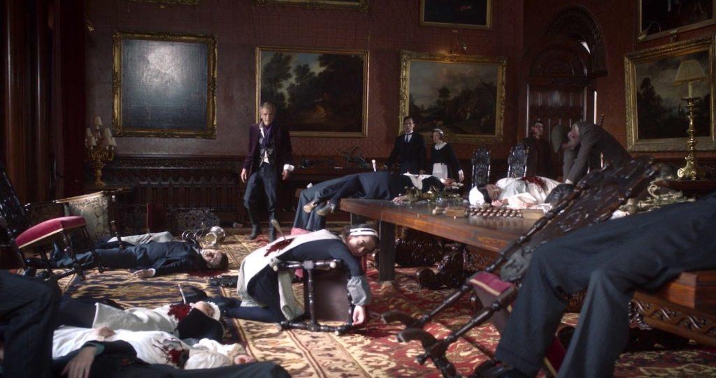 Veidt's Massacre in WATCHMEN 1x04