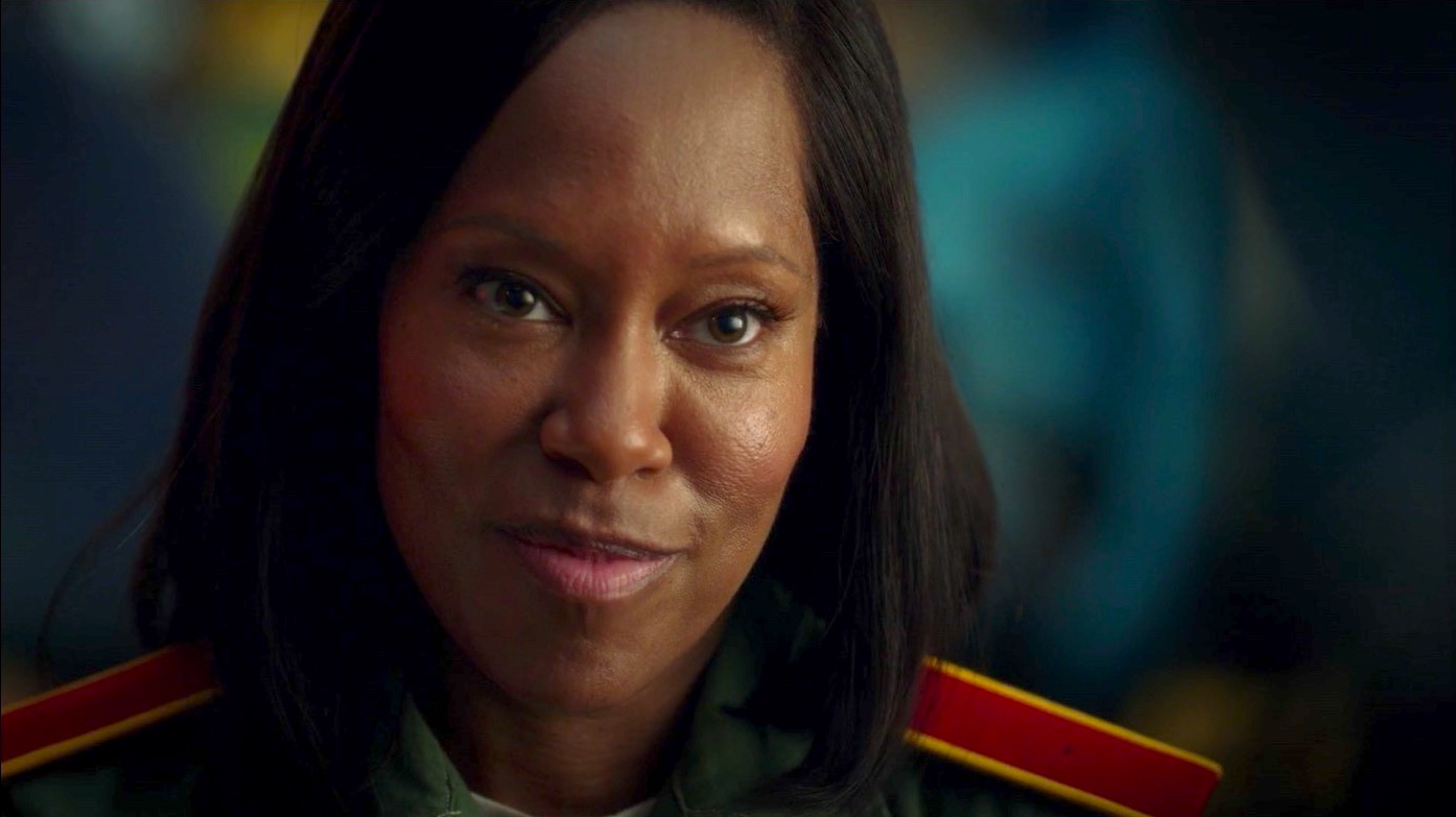 Angela Abar (Regina King) in WATCHMEN 1x08