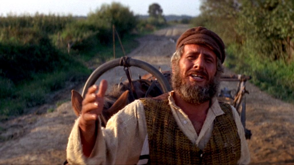 Topol in FIDDLER ON THE ROOF (1971)