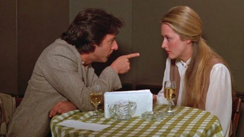 Hoffman and Streep in Kramer vs. Kramer