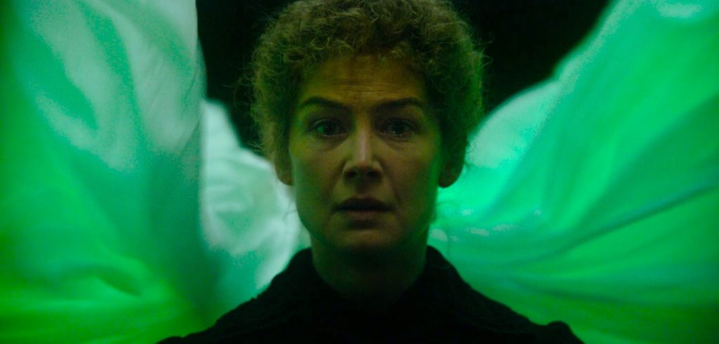 Rosamund Pike in RADIOACTIVE (2020)