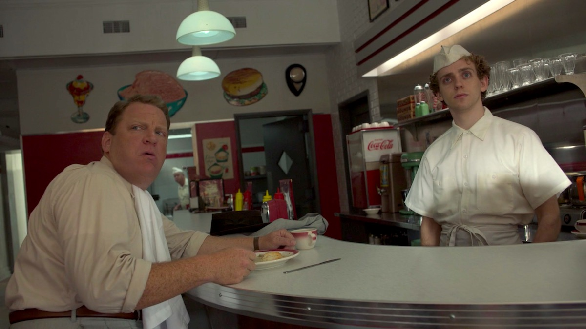 Simmonsville Diner in Lovecraft Country 1x01