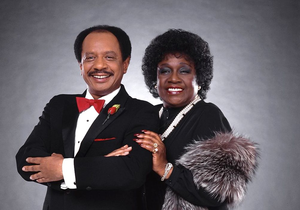 Sherman Hemsley and Isabel Sanford as George and Louis Jefferson