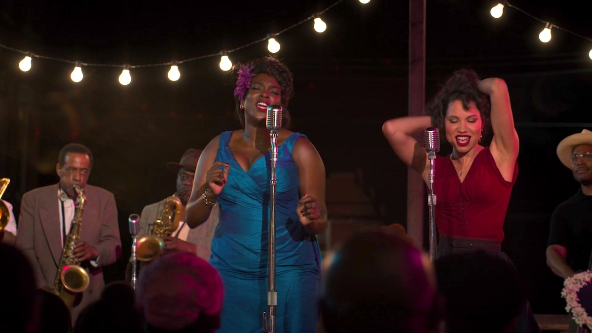 Wunmi Mosaku and Jurnee Smollett in LOVECRAFT COUNTRY 1x01