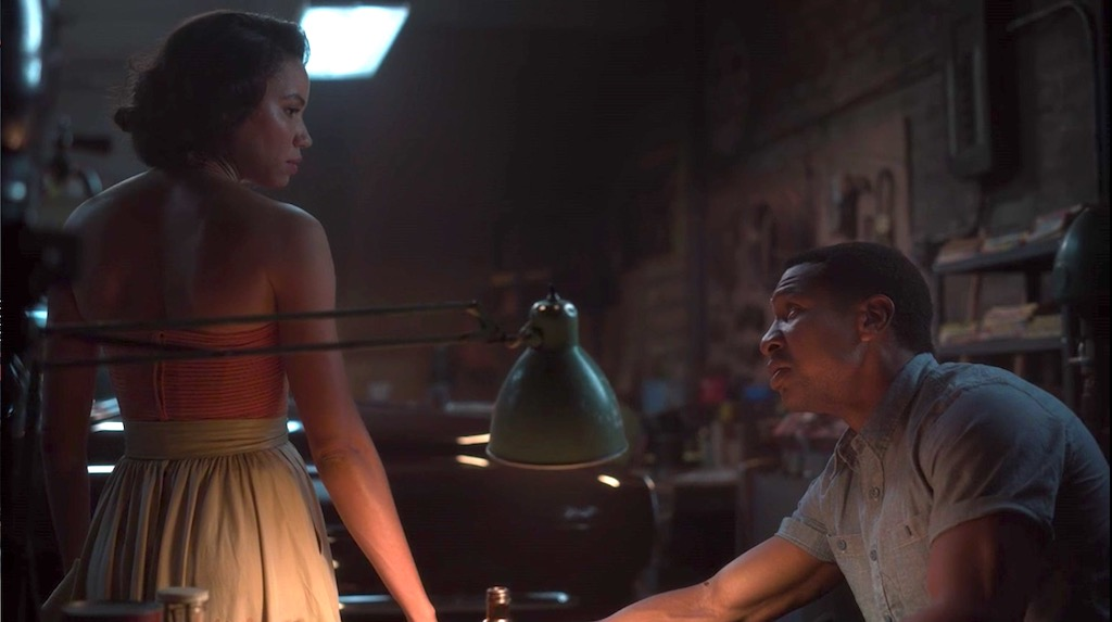 Jurnee Smollett and Jonathan Majors in LOVECRAFT COUNTRY 1x05 - Strange Case