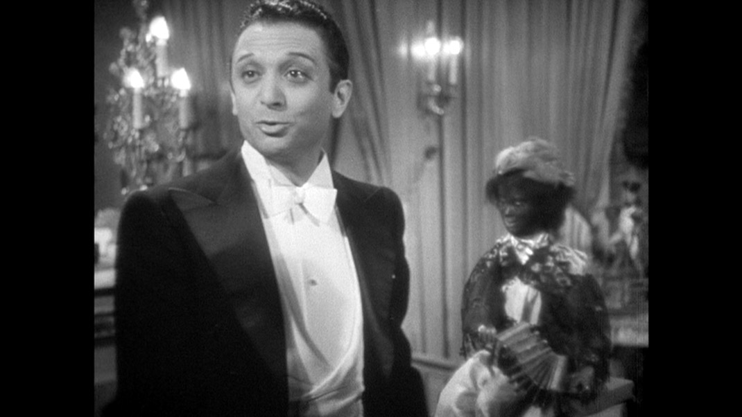 Marcel Dalio in THE RULES OF THE GAME