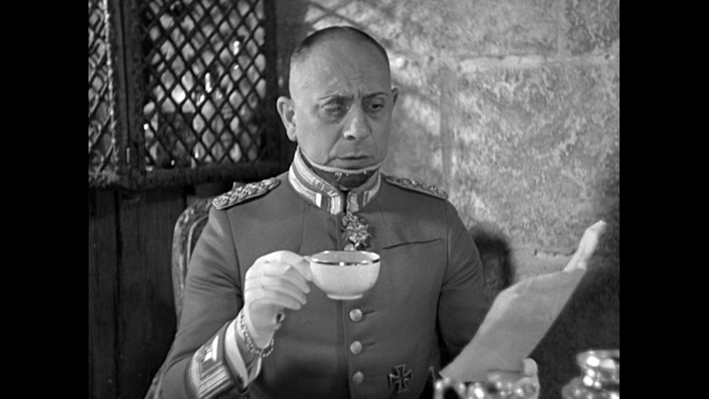 Rauffenstein (Erich von Stroheim) in GRAND ILLUSION