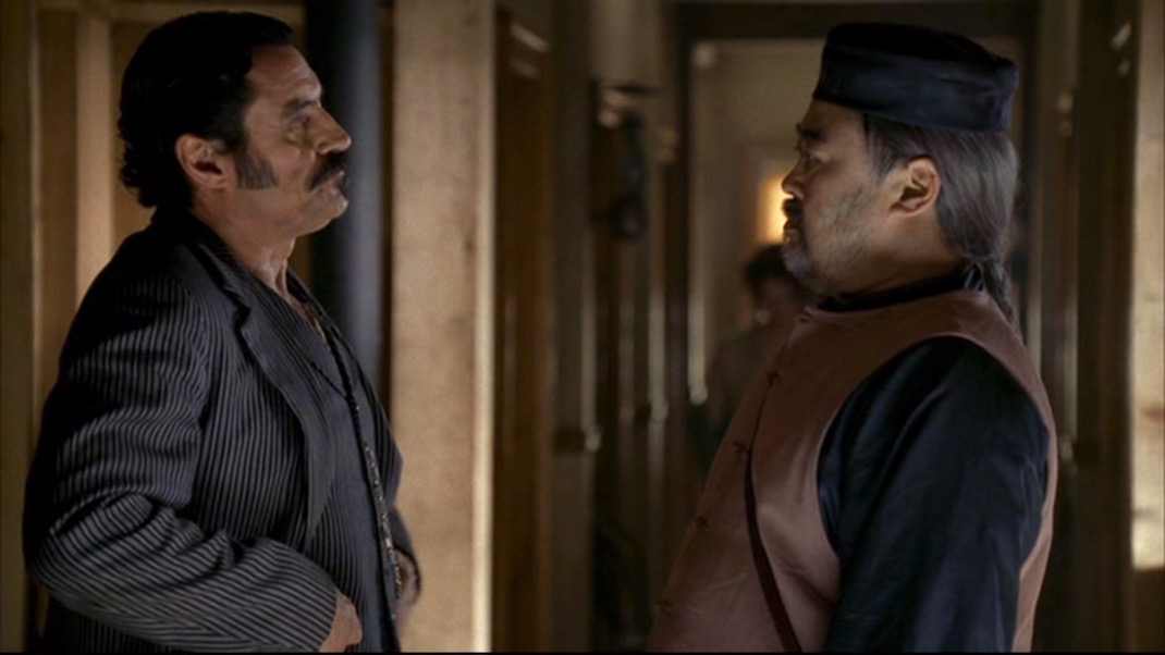 Al and Wu in DEADWOOD 1X10