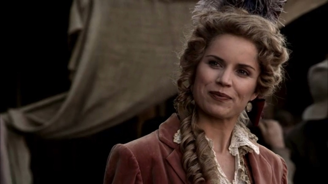 Joanie Stubbs (Kim Dickens) in DEADWOOD 1X09 - No Other Sons or Daughters