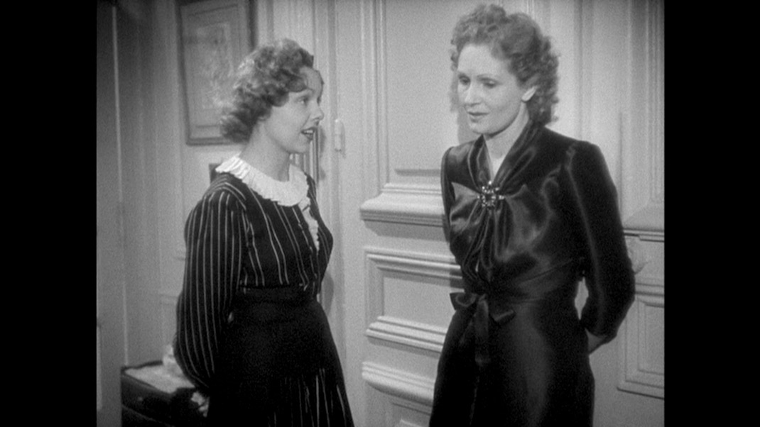 Paulette Dubost and Nora Gregor in THE RULES OF THE GAME