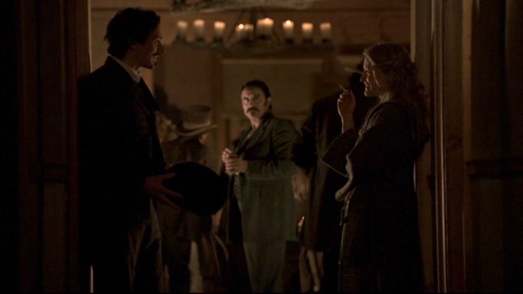 Sol, Al, and Trixie in DEADWOOD 1x09 - No Other Sons or Daughters