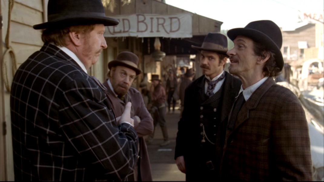 The Ambulators in DEADWOOD 1x10