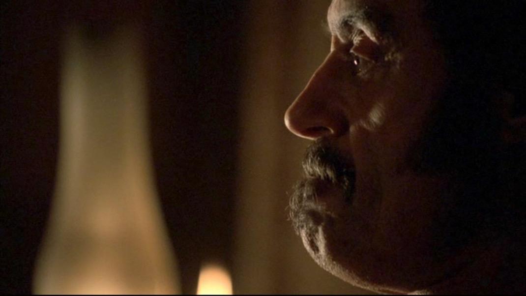 Ian McShane in DEADWOOD 1x11