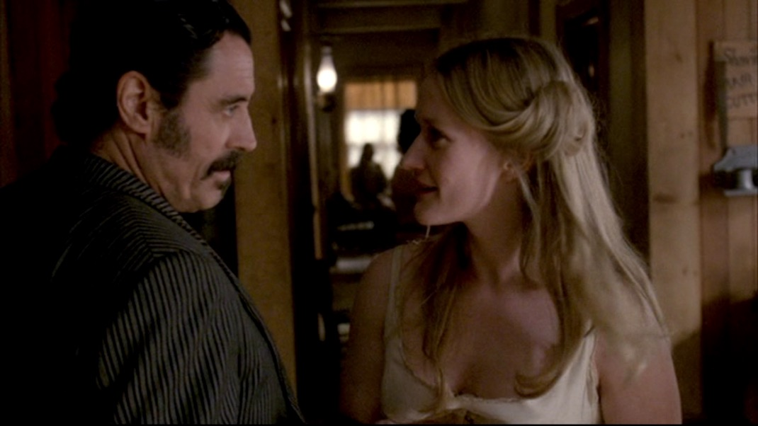 McShane and Malcomson in DEADWOOD 1X11