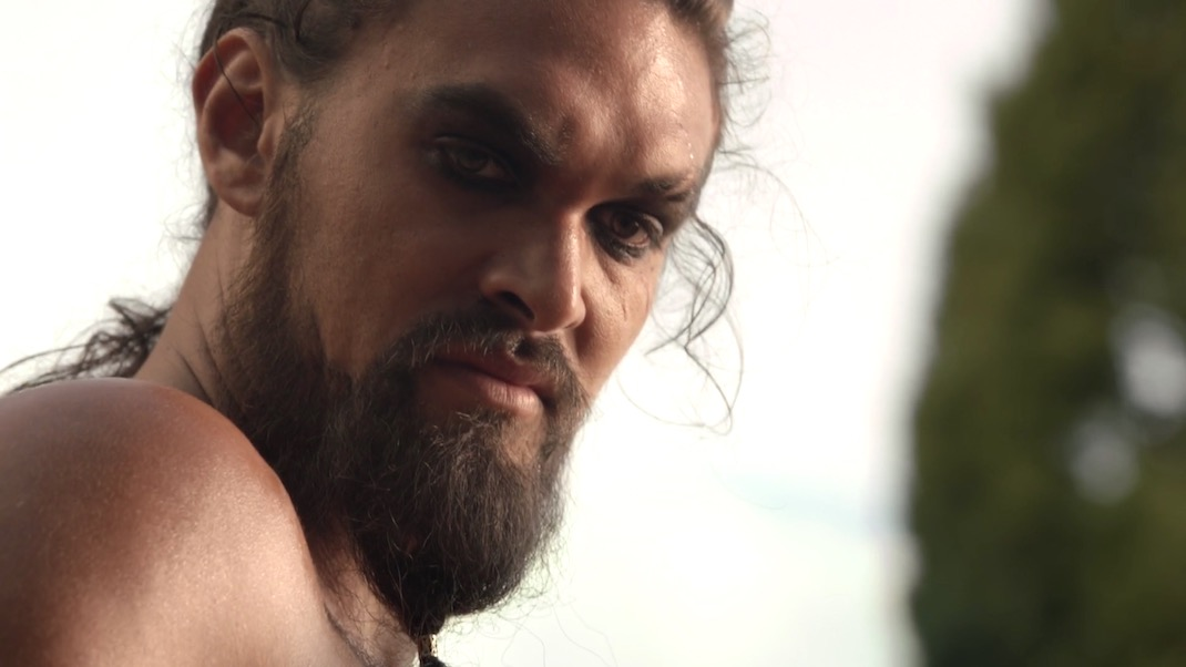 Khal Drogo in GOT 1x01 - Winter is Coming