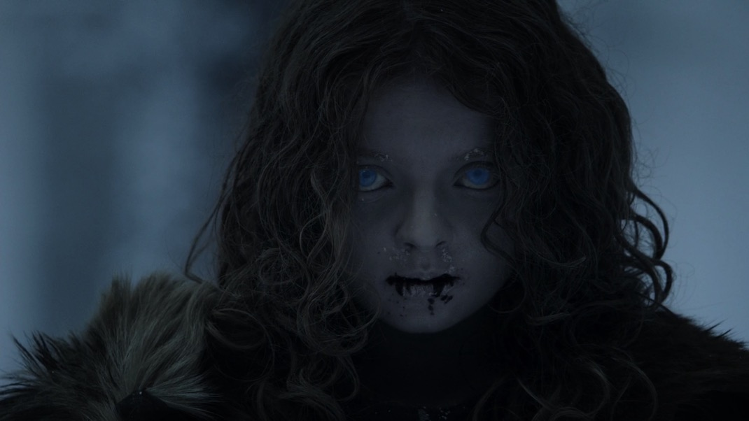 The wight child in GOT 1x01