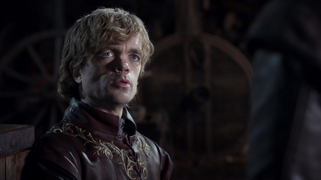 Tyrion in GOT 1X01 - Winter is Coming