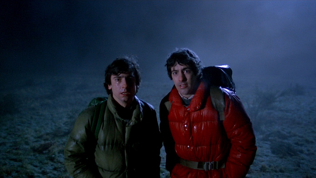 Griffin Dunne and David Naughton in AN AMERICAN WEREWOLF IN LONDON